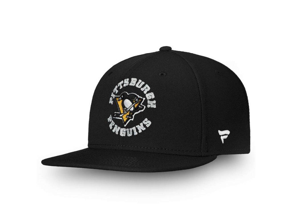 Dětská Kšiltovka Pittsburgh Penguins Emblem Snapback