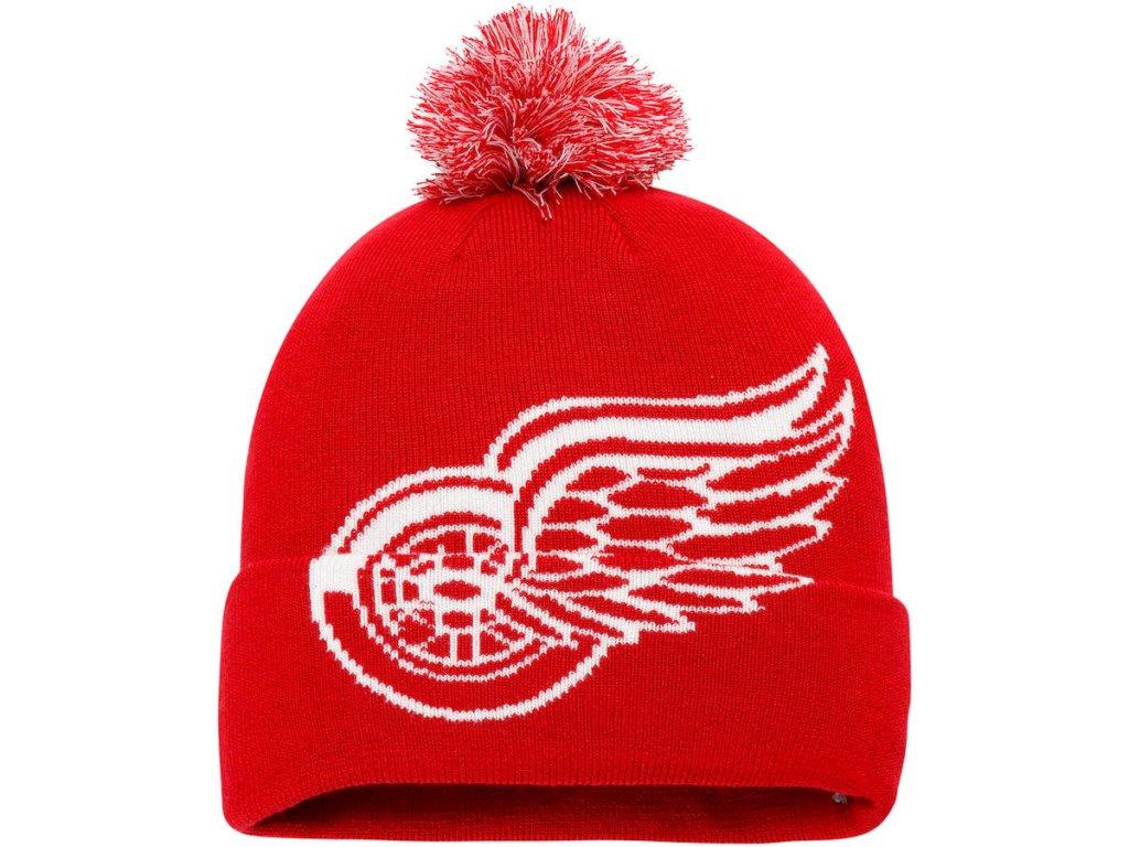 9038ac70db9 Zimní Čepice Detroit Red Wings Iconic Team Pop Cuffed Knit - Fanda ...