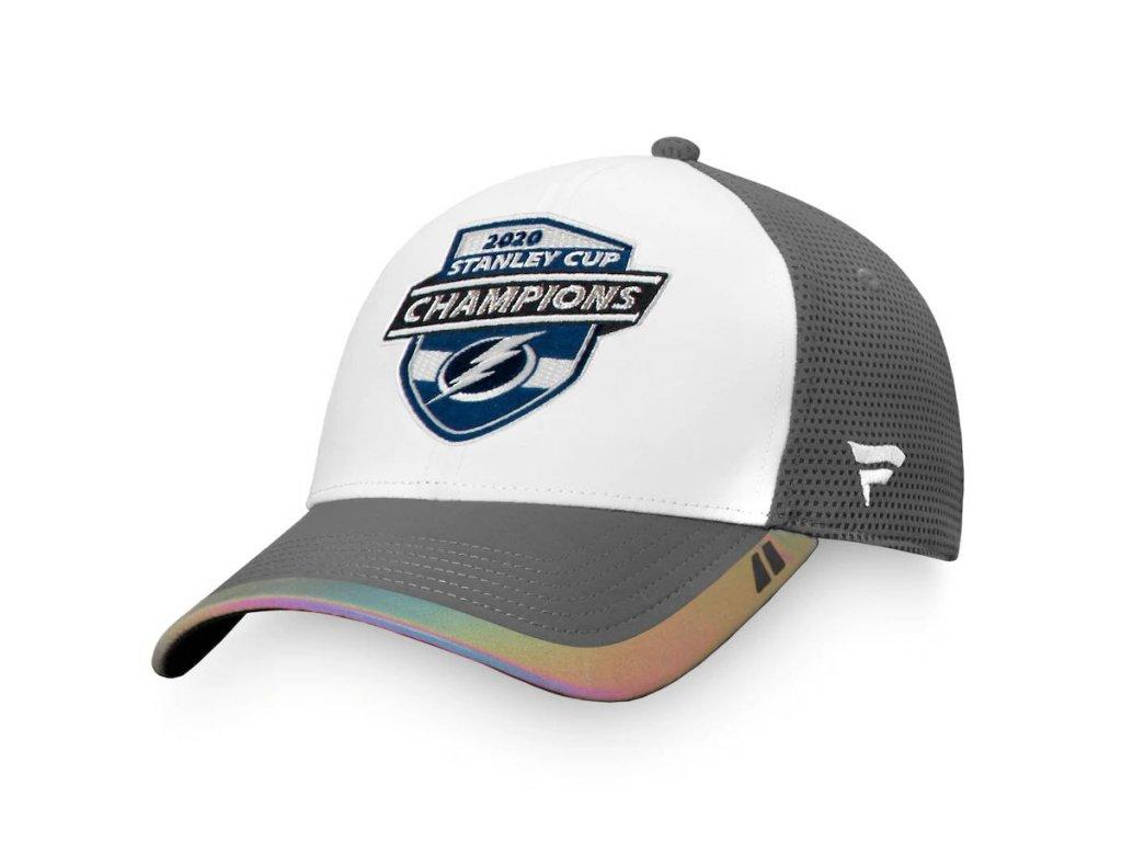 Kšiltovka Tampa Bay Lightning 2020 Stanley Cup Champions Locker Room Adjustable