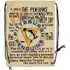 NHL vak Pittsburgh Penguins Historic Canvas Drawstring