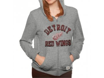 Dámská mikina Detroit Red Wings Tri-Blend Full Zip