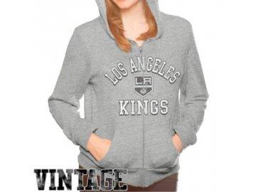 Dámská mikina Los Angeles Kings Tri-Blend Full Zip