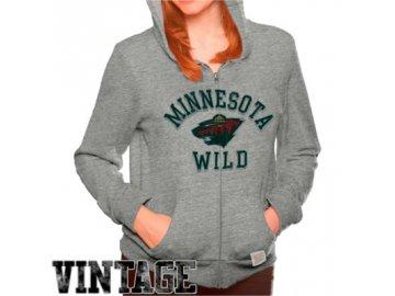 Dámská mikina Minnesota Wild Tri-Blend Full Zip