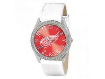 Dámské Hodinky Detroit Red Wings Analog Glitz