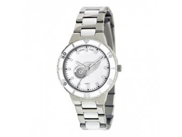 Dámské Hodinky Detroit Red Wings Pearl Stainless Steel