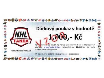 Dárkový poukaz - Fanda-NHL.cz