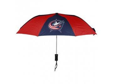 Deštník Columbus Blue Jackets - vysouvací