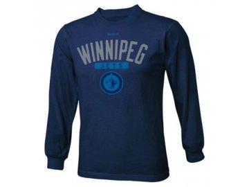 Dětské NHL tričko Winnipeg Jets Acquisition - dlouhý rukáv
