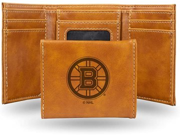 Kožená peněženka Boston Bruins Embossed Trifold
