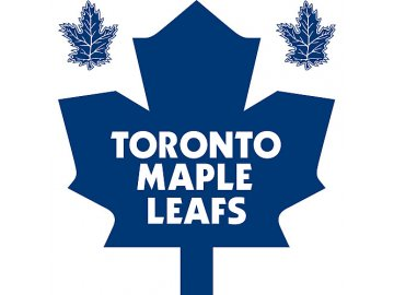 Logo na stěnu - Peel and Stick - Toronto Maple Leafs