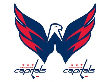 Logo na stěnu - Peel and Stick - Washington Capitals