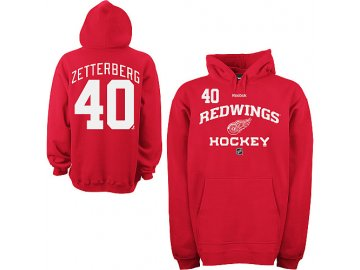 Mikina - #40 - Henrik Zetterberg - Detroit Red Wings