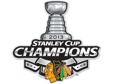 NHL nášivka Chicago Blackhawks Stanley cup 2013