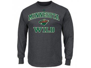 NHL tričko Minnesota Wild Heart and Soul- dlouhý rukáv