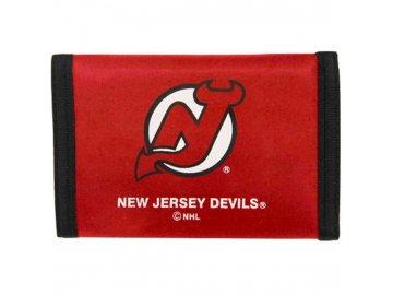 Peněženka - Nylon Trifold - New Jersey Devils