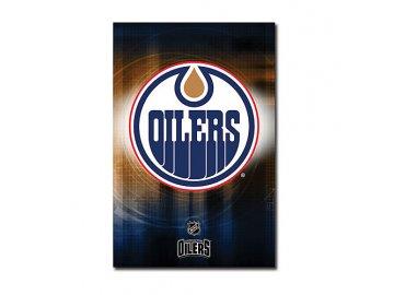 Plakát - Edmonton Oilers Team Logo