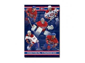 Plakát - Montreal Canadiens Team