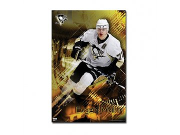 Plakát - Pittsburgh Penguins Evgeni Malkin