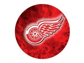 Podložka pod myš - fire logo - Detroit Red Wings