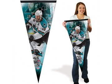 Praporek Wincraft - San Jose Sharks - Joe Thornton