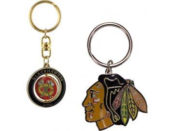 Přívěšek - Chicago Blackhawks - 2 kusy