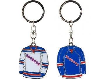 Přívěšek - Jersey - New York Rangers - 2 kusy