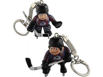 Přívěšek - Mini Players - Colorado Avalanche - 2 kusy