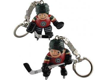 Přívěšek - Mini Players - Minnesota Wild - 2 kusy