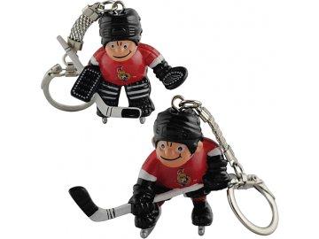 Přívěšek - Mini Players - Ottawa Senators - 2 kusy