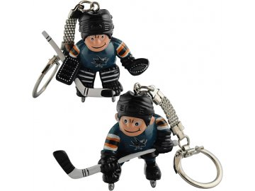 Přívěšek - Mini Players - San Jose Sharks - 2 kusy