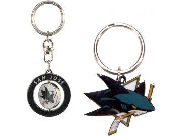 Přívěšek - San Jose Sharks - 2 kusy