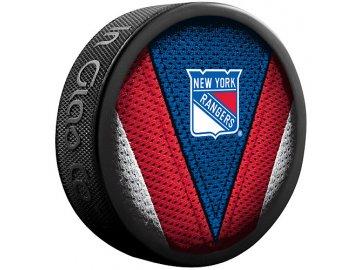 Puk New York Rangers Stitch