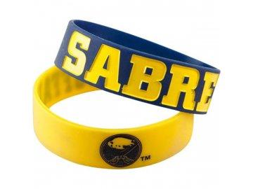 Silikonový náramek - Buffalo Sabres - 2 kusy