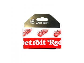 Silikonový náramek - Detroit Red Wings - 2 kusy