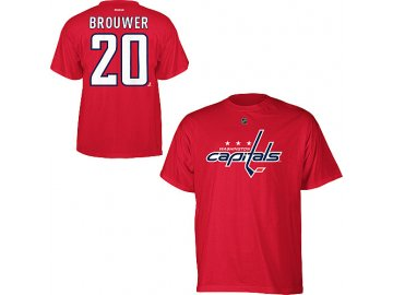 Tričko - #20 - Troy Brouwer - Washington Capitals