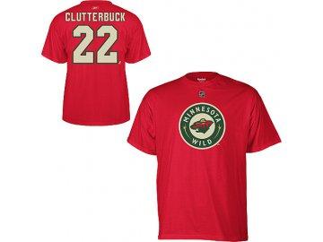 Tričko - #22 - Cal Clutterbuck - Minnesota Wild