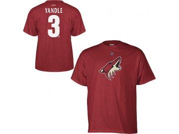 Tričko - #3 - Keith Yandle - Arizona Coyotes (Phoenix Coyotes)