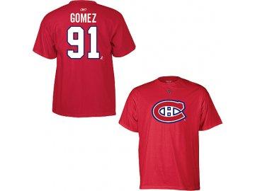 Tričko - #91 - Scott Gomez - Montreal Canadiens
