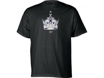 Tričko - Primary Logo - Los Angeles Kings (alternate) - černé