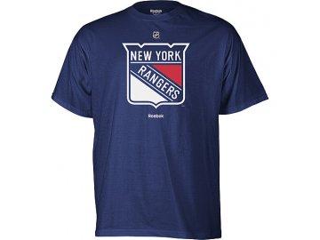 Tričko - Primary Logo - New York Rangers - modré