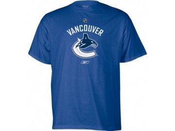 Tričko - Primary Logo -Vancouver Canucks - modré