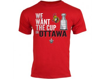 Tričko - Want The Cup - Ottawa Senators