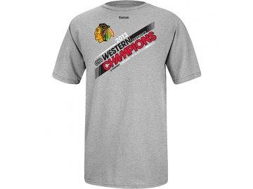 Tričko - Western Conference Champions Locker Room - Chicago Blackhawks - dětské