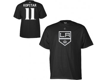 Tričko Anze Kopitar #11 Los Angeles Kings Third Logo