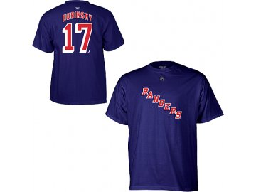 Tričko Brandon Dubinsky #17 New York Rangers