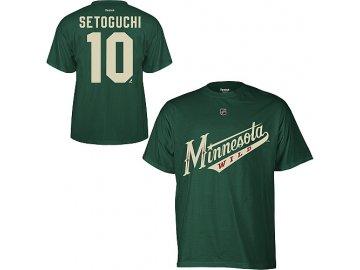 Tričko Devin Setoguchi #10 Minnesota Wild Third Logo