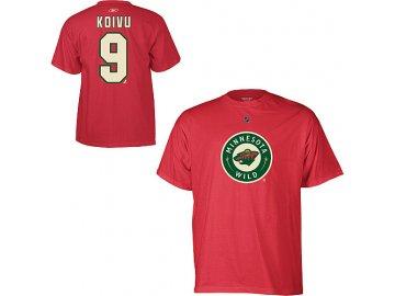 Tričko Mikko Koivu #9 Minnesota Wild