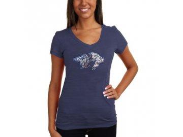 Tričko Nashville Predators Sequin Logo - dámské