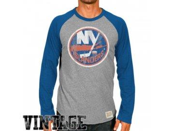 Tričko New York Islanders Raglan - dlouhý rukáv