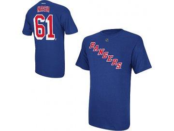 Tričko Rick Nash #61 New York Rangers
